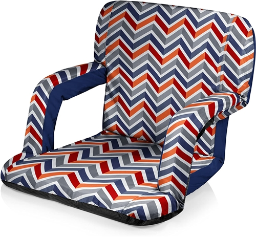 Picnic Time Ventura Seat Portable Recliner Chair - Vibe Collection