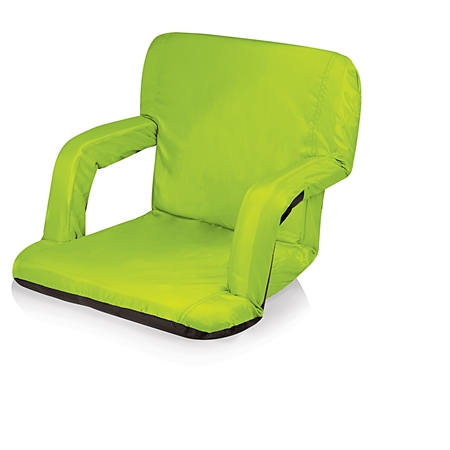 Picnic Time Ventura Seat Portable Recliner Chair - Lime