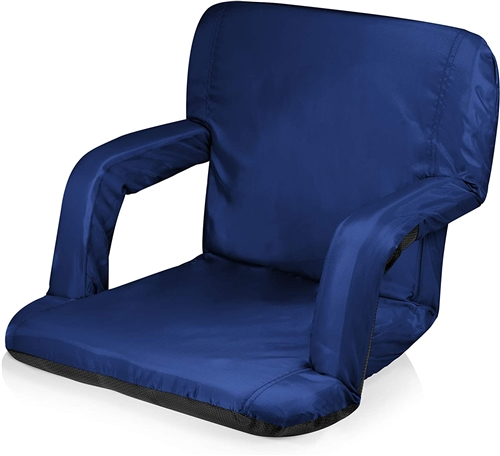 Picnic Time Ventura Seat Portable Recliner Chair - Navy