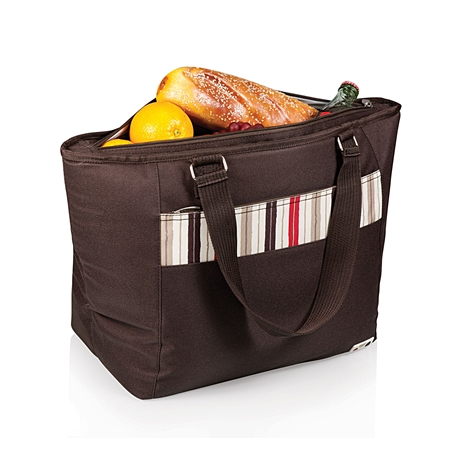 Picnic Time Topanga Cooler Tote - Moka Collection