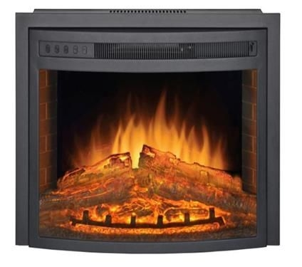 Patrick Industries PD2616F Curved Electric Fireplace Insert - 26""