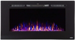 Touchstone 80027 Sideline Recessed Electric Fireplace Insert - 40""