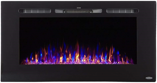 Patrick Industries 80025 Sideline Wall Mount Electric Fireplace Insert - 40""