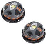 Reese PD110200 POD Hazard Multi-Use LED Warning Lights - 2 Pack