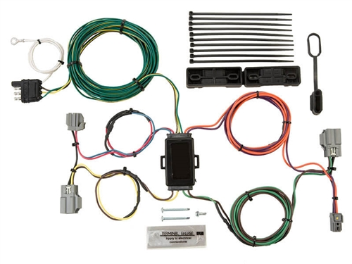Blue Ox BX88321 EZ Light Custom Vehicle Wiring Kit - Ford Focus Sedan '12-'17