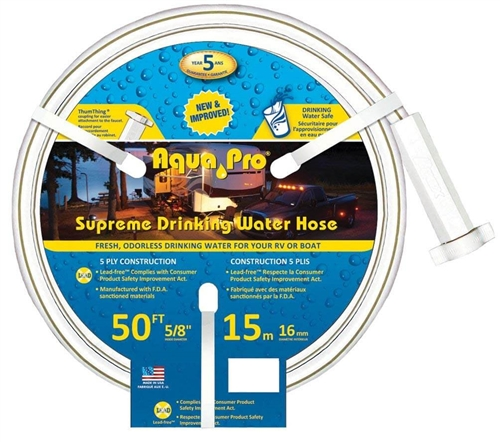 Aqua Pro W20867 Supreme Drinking Water Hose - 50 Feet