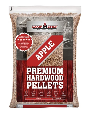 Camp Chef PLAP Orchard Apple Blend Barbeque Pellets