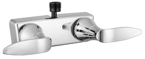 Dura Faucet DF-SA100LH-CP RV Lavatory Faucet With Diverter - Chrome