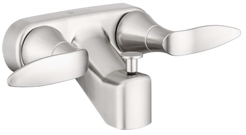 Dura Faucet DF-SA110LH-SN RV Lavatory Faucet With Tub And Shower Diverter - Satin Nickel