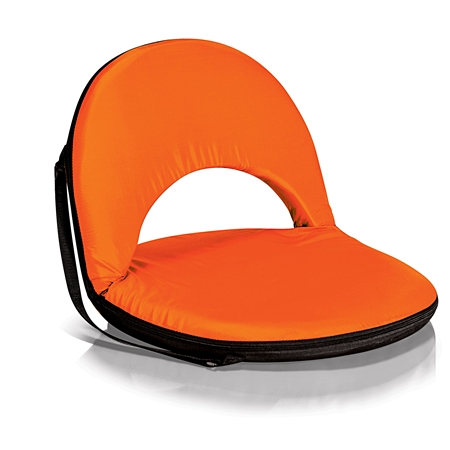Picnic Time Oniva Seat Portable Recliner Chair - Orange