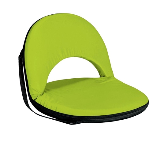 Picnic Time Oniva Seat Portable Recliner Chair - Lime