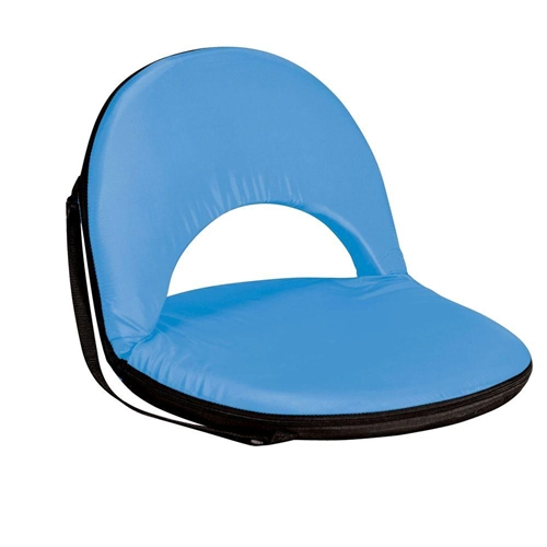 Picnic Time Oniva Seat Portable Recliner Chair - Sky Blue