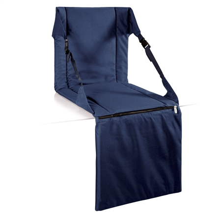 Picnic Time Stadium Seat - Navy