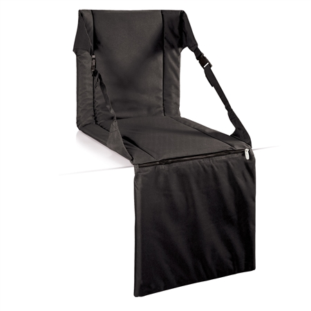 Picnic Time Stadium Seat - Black