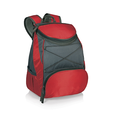Picnic Time PTX Backpack Cooler - Red/Dark Grey
