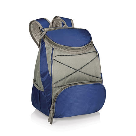 Picnic Time PTX Backpack Cooler - Navy/Grey