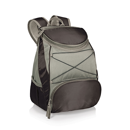 Picnic Time PTX Backpack Cooler - Black/Grey