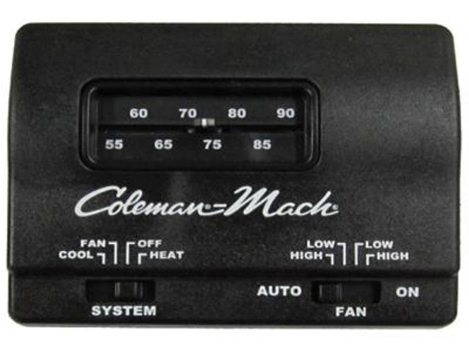 Coleman Mach 7330f3852 Analog Heat Cool Rv Air Conditioner