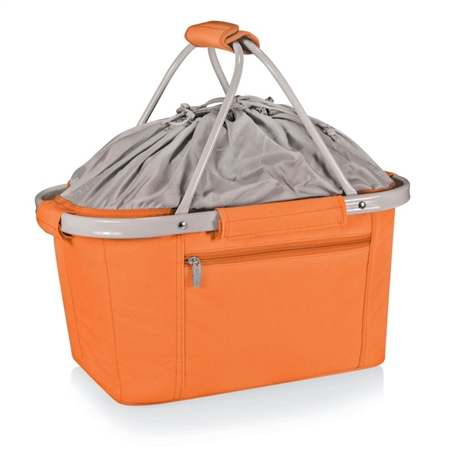 Picnic Time Metro Basket Collapsible Tote - Orange