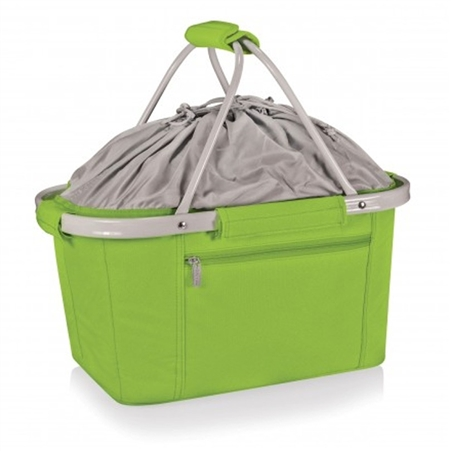 Picnic Time Metro Basket Collapsible Tote - Lime