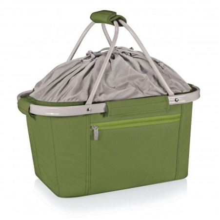 Picnic Time Metro Basket Collapsible Tote - Olive