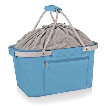 Picnic Time Metro Basket Collapsible Tote - Vista Blue