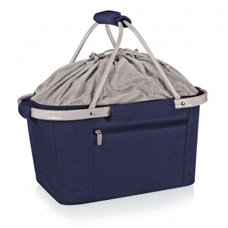 Picnic Time Metro Basket Collapsible Tote - Navy