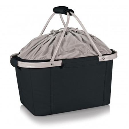 Picnic Time Metro Basket Collapsible Tote - Black