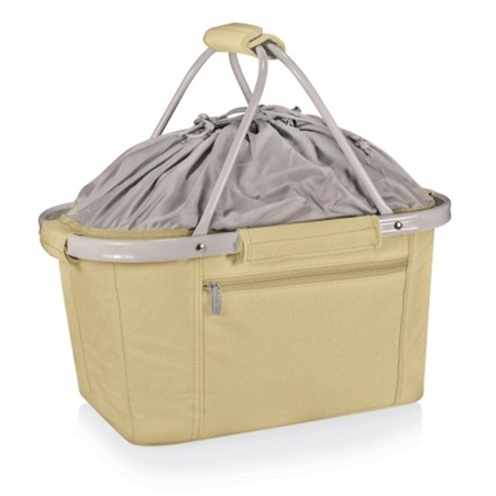 Picnic Time Metro Basket Collapsible Tote - Tan