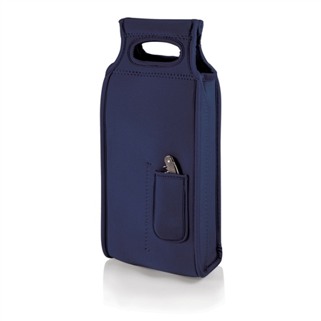 Picnic Time Samba Wine Tote - Navy