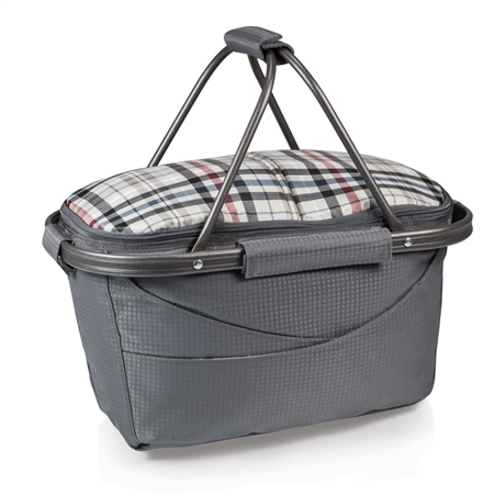Picnic Time Kensington Market Basket Collapsible Tote - Carnaby Street Collection