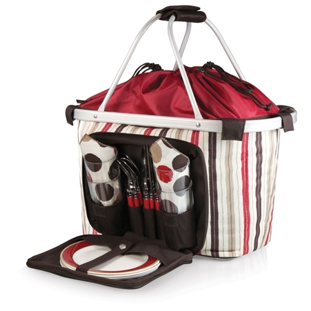 Picnic Time Melrose Picnic Cooler Tote - Moka Collection