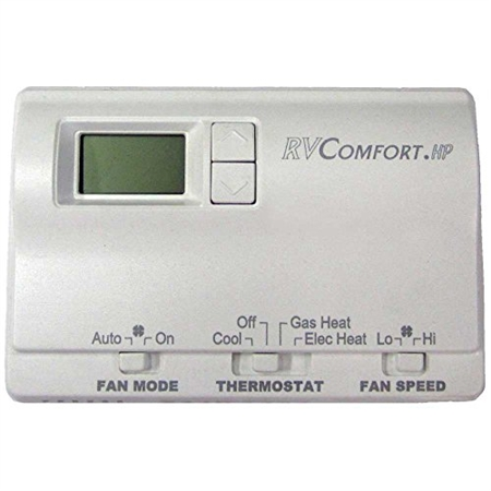 Coleman Mach Thermostat, Single Stage Heat Pump Digital, White