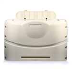 Camco 40525 Heavy Duty RV Propane Tank Cover - Colonial White - For 20 lb. Tanks