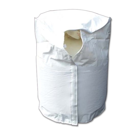 ADCO 2111 Polar White LP RV Tank Cover - 20 Lb Single