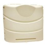 Camco 40532 Colonial White Hard Propane Tank Cover, 30 lb