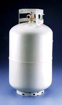 Manchester Tank 1220TC.4 Steel Tank LP Gas Cylinder - 40Lbs