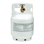 Manchester Tank 10054 Steel Tank LP Gas Cylinder - 5Lbs