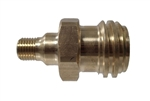 MB Sturgis Male Type 1 ACME Threads x 1/4 Inch Male NPT Adapter