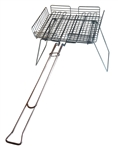 Rome Industries 66-D Basket Broiler Deluxe With Grill Stand