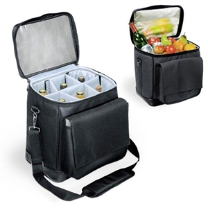Picnic Time Cellar Six-Bottle Wine Tote