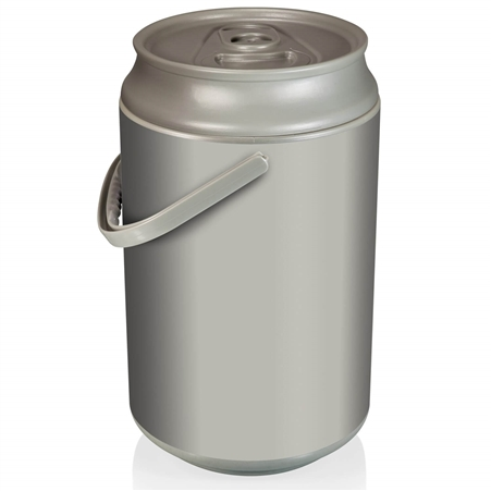 Picnic Time 686-00-000-000-0 Mega Can Cooler - 5 Gal - Silver / Grey