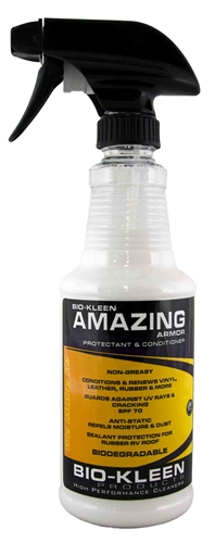 Bio Kleen M00205 Amazing Armor Vinyl Protectant & Conditioner - 16 Oz