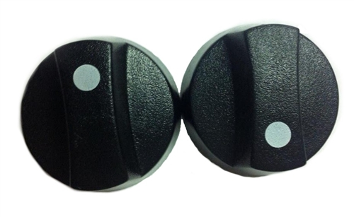 Coleman Mach 8330-3051 Air Conditioner Ceiling Assembly Control Knobs - Set of 2