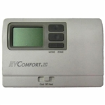 Coleman Mach 8330D3351 Zone Control 8-Series 4 Stage Digital RV Thermostat - White