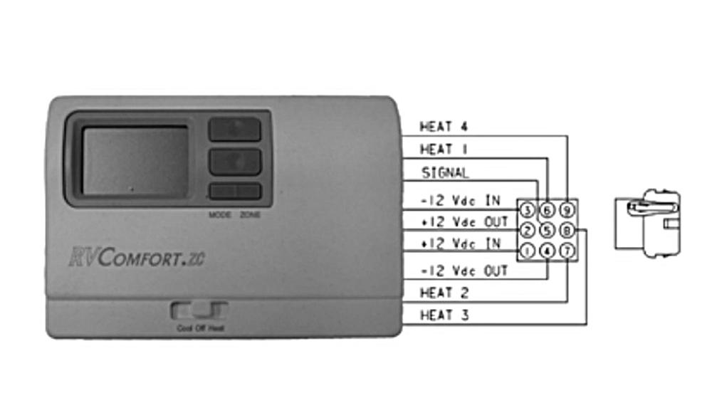 Wiring Zc Rv Diagram Mach Coleman Zone Thermostat on