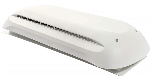 Dometic 3311236.000 Refrigerator Cap And Roof Vent - Polar White