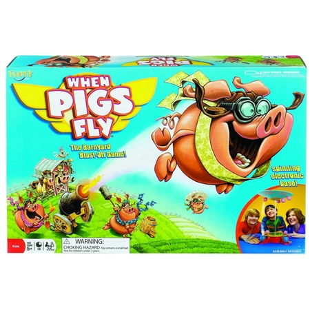 POOF When Pigs Fly Game