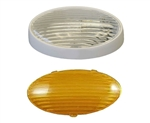 Gustafson AM4033 Oval Porch Light - White - Without Switch