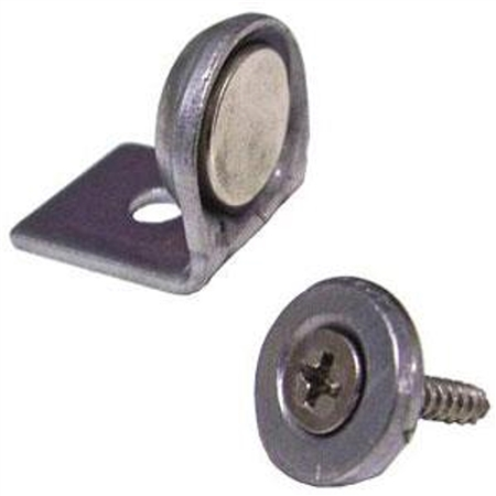 "Tyler Holdings Ltd. 1/2"" Magnetic Cabinet Latch - L Bracket"